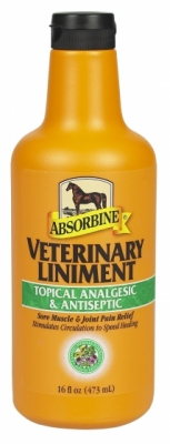 ABSORBINE Veterynary liniment  - wcierka uznana przez profesjonalistów 473 ml