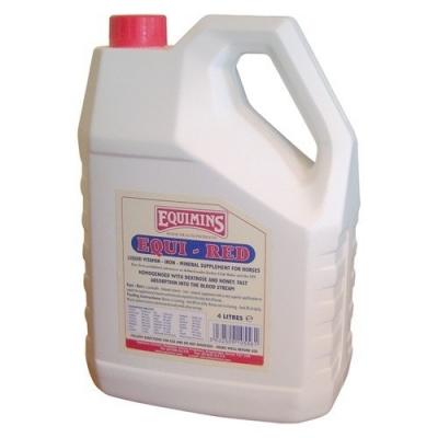 EQUIMINS Equi-Red Premiks mineralno – witaminowy w płynie z dużą zawartością żelaza - 1L