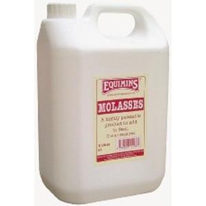 EQUIMINS Molasses - melasa z trzciny cukrowej dla zwiększenia smakowitości paszy (świetne dla koni - niejadków) 5 l