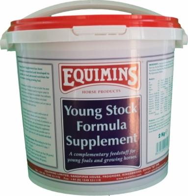 EQUIMINS Young Stock Formula Supplement - uzupelniająca mieszanka mineralno - witaminowa dla młodych koni 2 kg