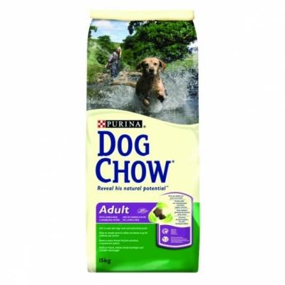 PURINA Dog Chow Adult z jagnięciną i ryżem 15 kg