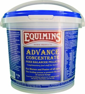 EQUIMINS Advance Complete Pellets - pełnowartościowa, granulowana mieszanka uzupełniająca, bilansująca dietę koni 2 kg