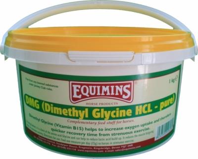 EQUIMINS DMG (Dimethyl Glycine Pure) - dwumetylo - glicyna - zwiększa wydolność organizmu 1000 g