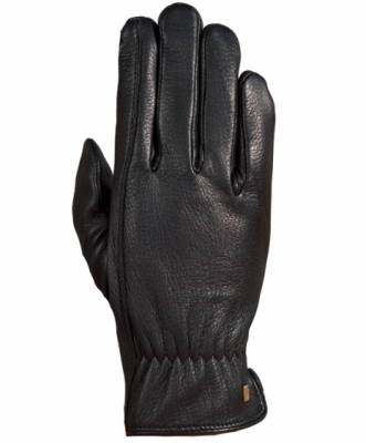 ROECKL Rękawiczki z jeleniej skórki, ocieplone polarem. (zimowe) 3303-519